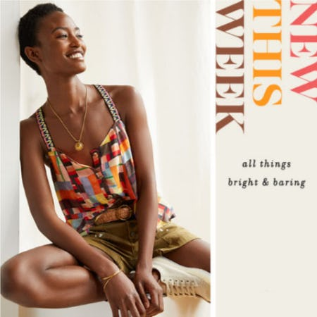 Bright, Beautiful & Brand New from Anthropologie