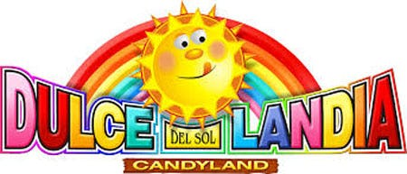 Dulcelandia Candy Shop Logo