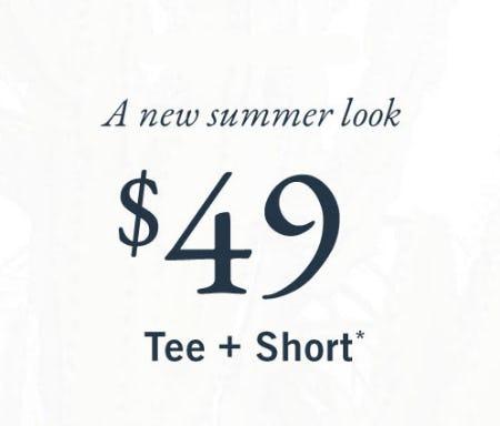 $49 Tee & Short