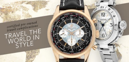Timeless Travel Complications from Tourneau