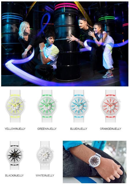 The Neon Collection from Swatch