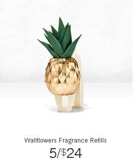 5 for $24 Wallflowers Fragrance Refills from Bath & Body Works