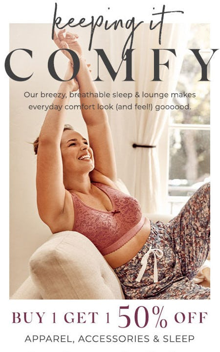 Buy One, Get One 50% Off Apparel, Accessories & Sleepwear from Lane Bryant