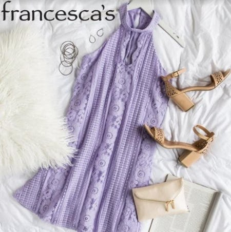 BOGO 40% Off Clothing, Jewelry, And More from francesca's