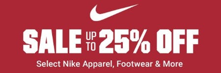 30f352c6e428 Up to 25% Off Select Nike Apparel, Footwear & More at Dick's ...