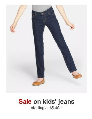 Kids' Jeans Starting at $6.40 from Target