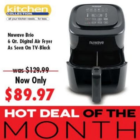 Our HOT DEAL of the MONTH from Kitchen Collection