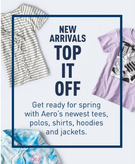 Shop New Arrivals from Aéropostale