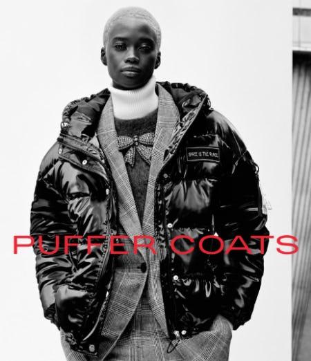 Puffer Coats from ZARA