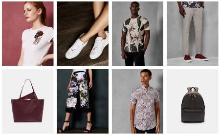 Introducing your Weekend Wardrobe from Ted Baker London