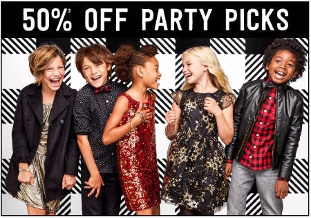 50% Off Party Picks