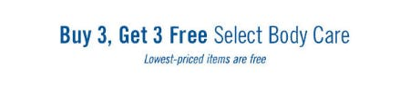 B3G3 Free Select Body Care from Bath & Body Works/White Barn