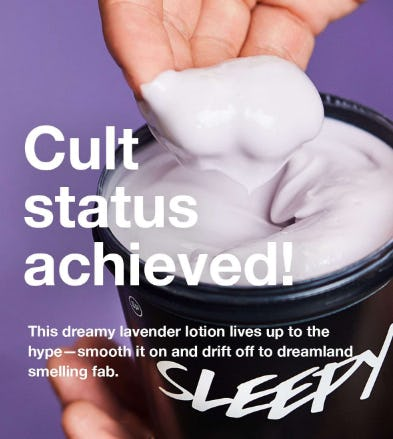 Sleepy Body Lotion from LUSH