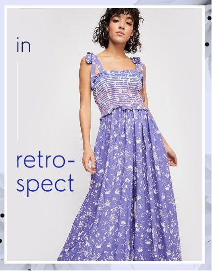 Shop This Retro Dress from Free People
