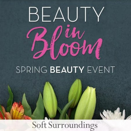Beauty in Bloom at Soft Surroundings