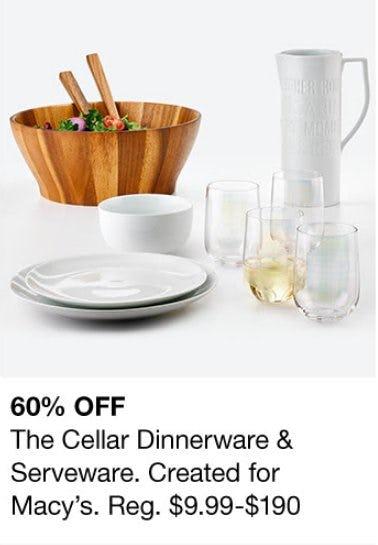 The Cellar Dinnerware & Serveware 60% Off from macy's