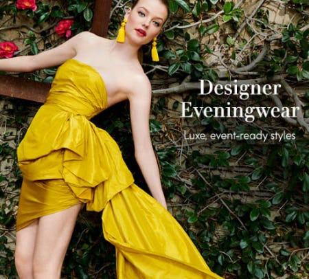 Designer Eveningwear from Neiman Marcus