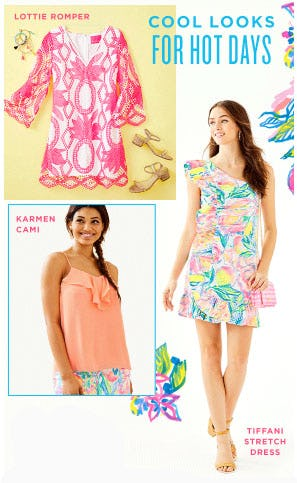Cool Looks for Hot Days from Lilly Pulitzer