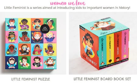 The Little Feminist Collection from Paper Source