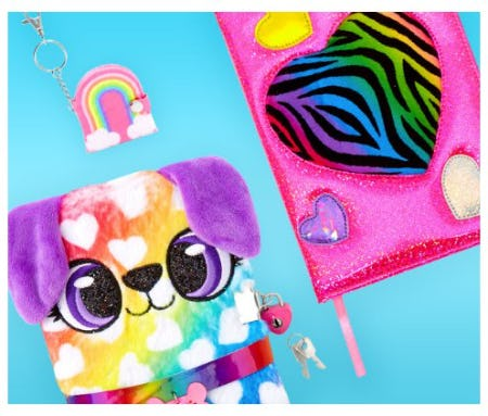 Stylish Rainbow Home & Stationery from Claire's