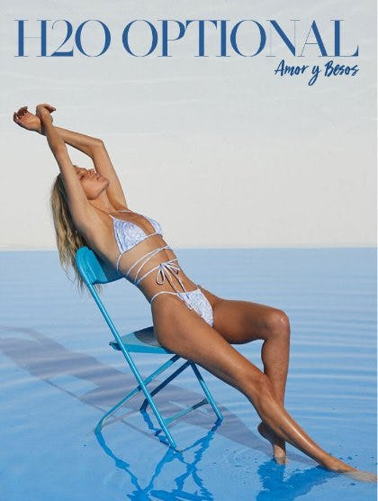 New Amor y Besos Swim from Pacific Sunwear