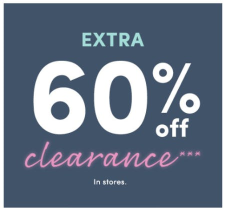 Extra 60% Off Clearance from J.Crew Factory