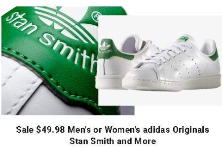 Sale $49.98 Men's or Women's adidas Originals Stan Smith and More from Dick's Sporting Goods