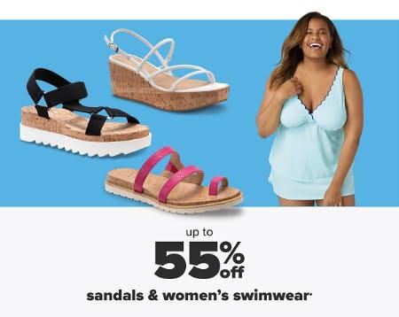 Up to 55% Off Sandals & Women's Swimwear from Belk