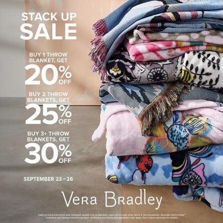 Save on Fan-Favorite Blankets from Vera Bradley