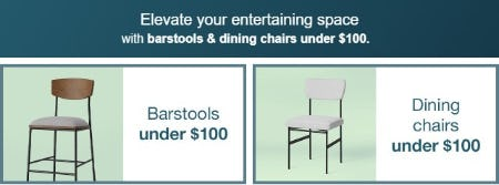Barstools & Dining Chairs Under $100 from Target