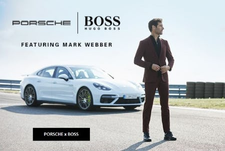 Introducing PORSCHE x BOSS