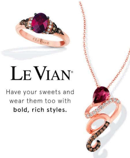 Satisfy your Sweet Tooth with Le Vian from Kay Jewelers