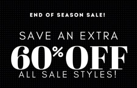 End of Season Sale: Save an Extra 50% Off from Charming Charlie