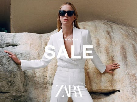 Zara Sale Happening Now!