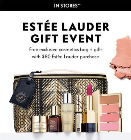 Estee Lauder Gift Event