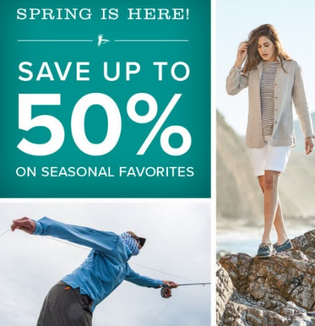 Up to 50% Off Sale from Orvis