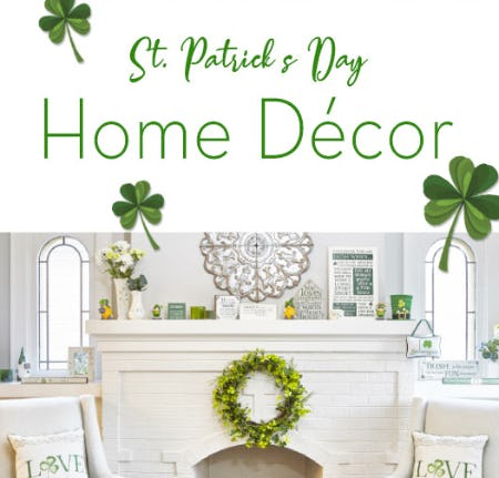 St. Patrick's Day Home Decor from Von Maur
