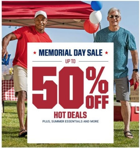 Memorial Day Sale: Up to 50% Off from Dick's Sporting Goods