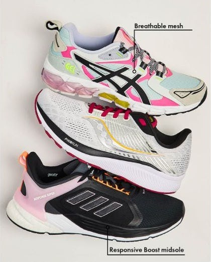 Push the Limit in Running Shoes