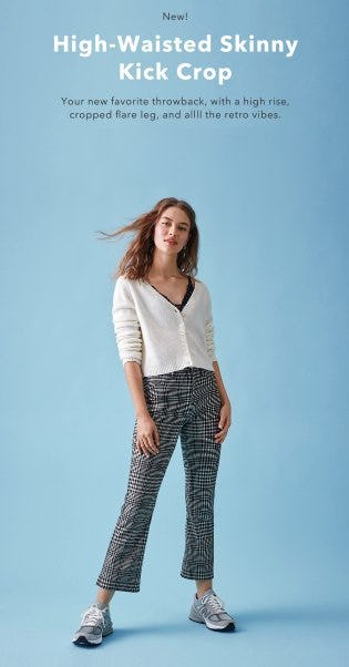 Just Dropped: The High-Waisted Skinny Kick Crop from American Eagle Outfitters