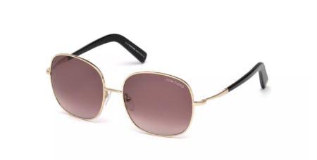 Tom Ford Georgina Round Sunglasses
