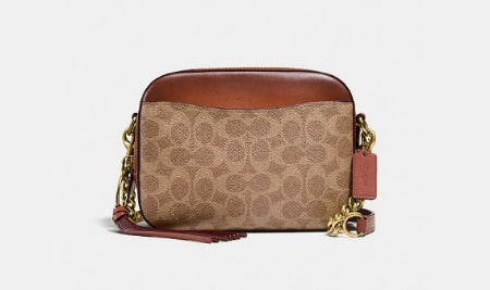 Camera Bag In Signature Canvas from Coach