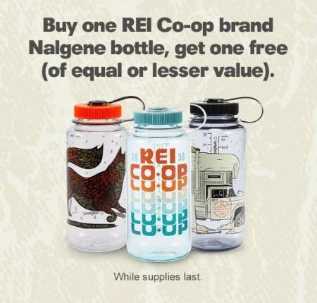 BOGO Free REI Co-op Brand Nalgene Bottle from REI