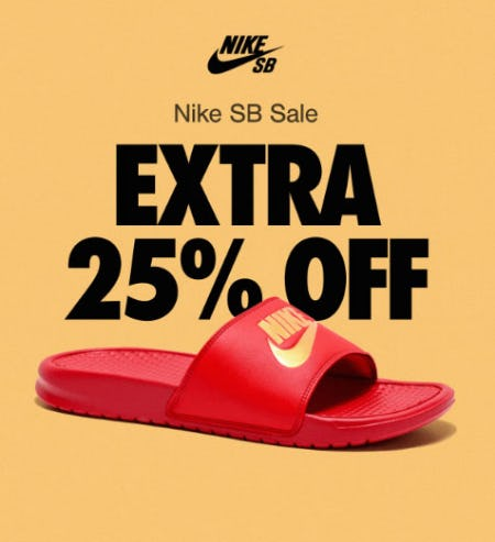 Extra 25% Off Nike SB Sale from Zumiez
