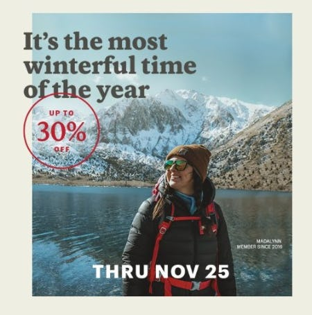 Gear Up Get Out Sale: Save up to 30% from REI
