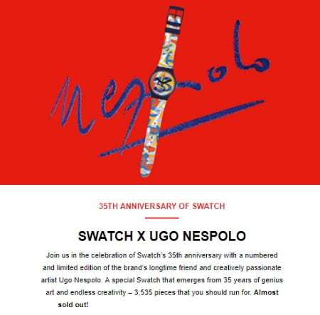 Swatch UGO from Swatch
