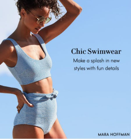 Chic Swimwear from Neiman Marcus