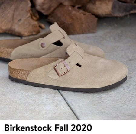 New Birkenstocks for Fall from Nordstrom