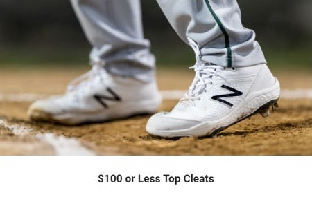 $100 or Less Top Cleats