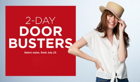 2-Day Door Busters